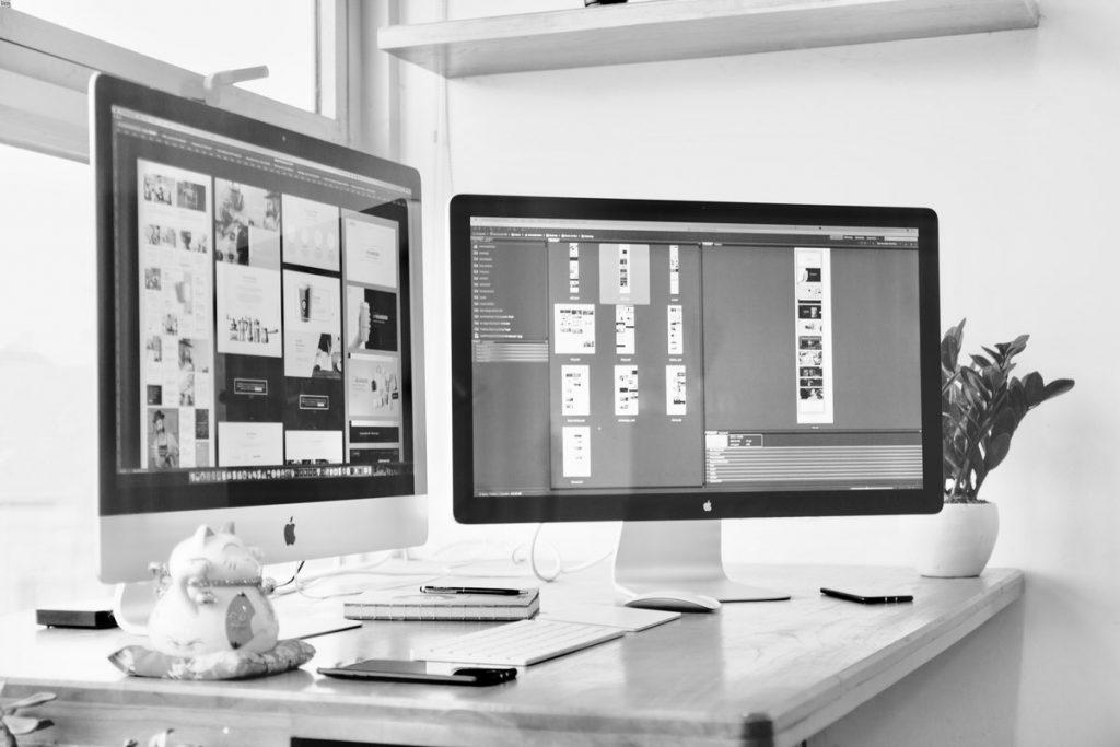 Web Design On A Desktop